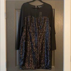 Forever 21+ Black Sequin Dress